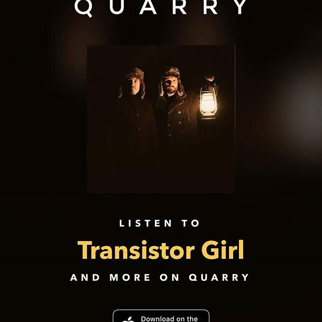 Listen our new singles on Quarry App !! #quarrymusicapp