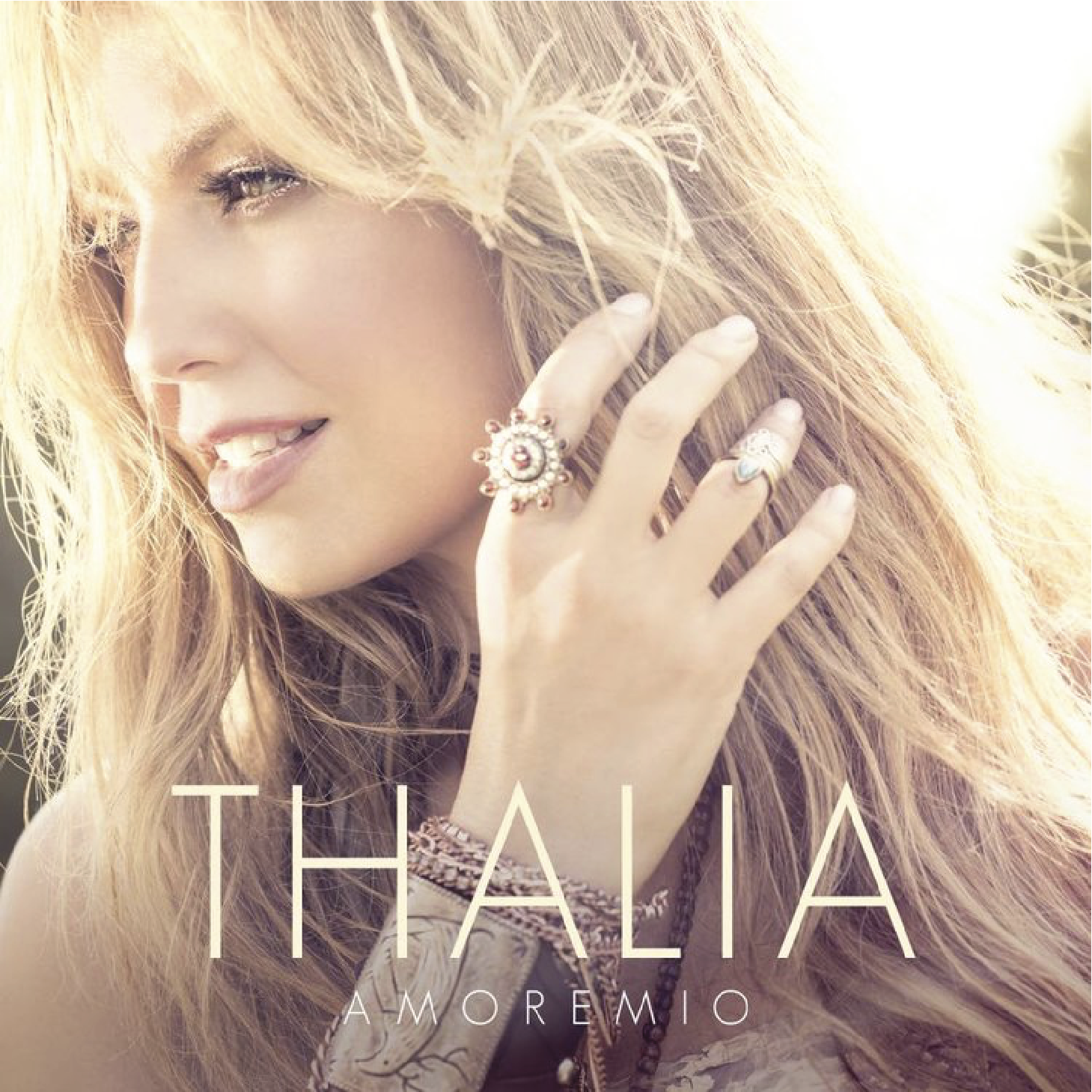"Thalia's ""Amore Mio"" #1 on US Latin & Mexican Charts   Thalia just released her latest album called ""Amore Mio."" Its currently #1 on the US Latin and Mexican charts. The song 'Contigo Quiero Estar' co-written and arranged by The Monsters & The Strangerz."