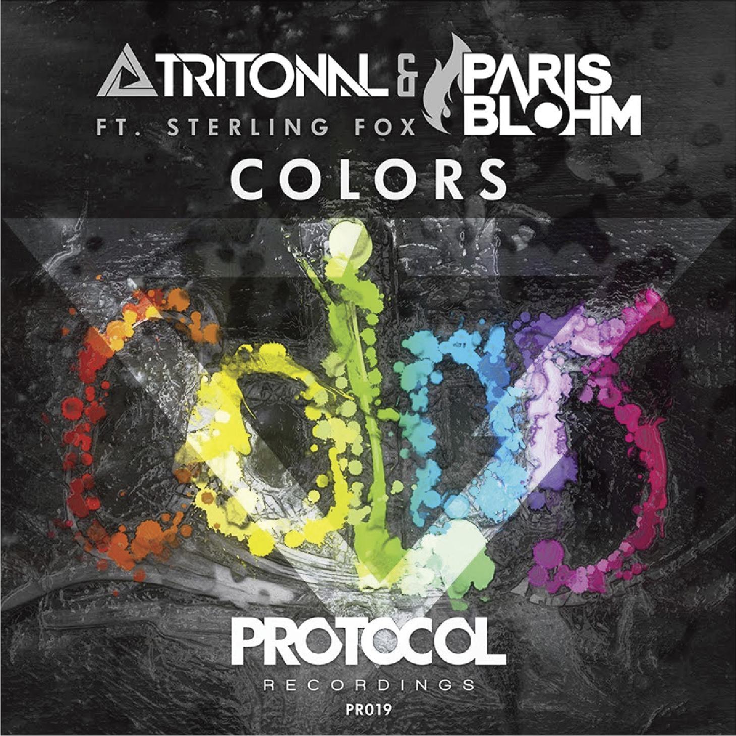 Music Thumbnails 1916_Tritonal & Paris Blohm ft. Sterling Fox - Colors.png