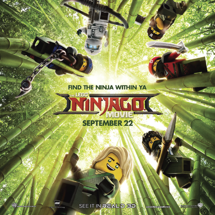 HEROES - LEGO NINJAGO MOVIe