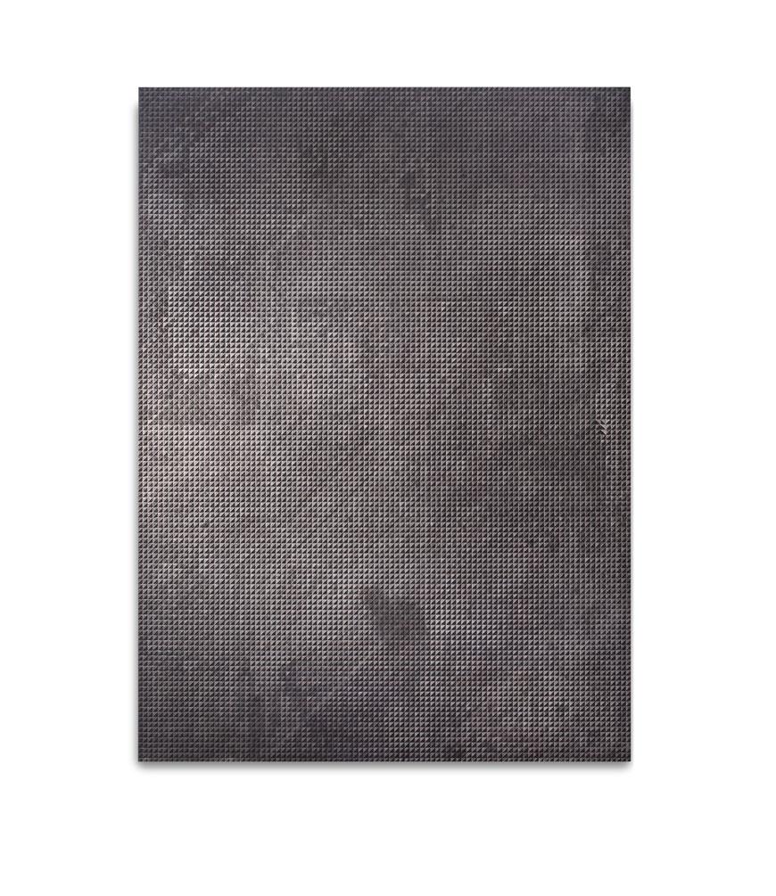 La Regina,  oil, graphite and venetian plaster on panel, 72 x 48 inches, 2014