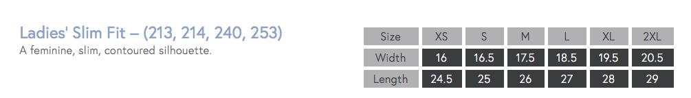Ladies Slim Fit Size Chart_Tulex.png
