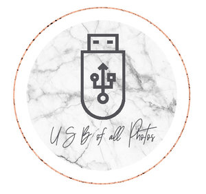 IF YOU'RE WORRIED YOUR PHOTOS MAY GET LOST ONLINE NEVER TO BE SEEN AGAIN, ADD ON A USB DRIVE TO EASILY SHARE WITH YOUR LESS TECHY FRIENDS AND FAMILY.