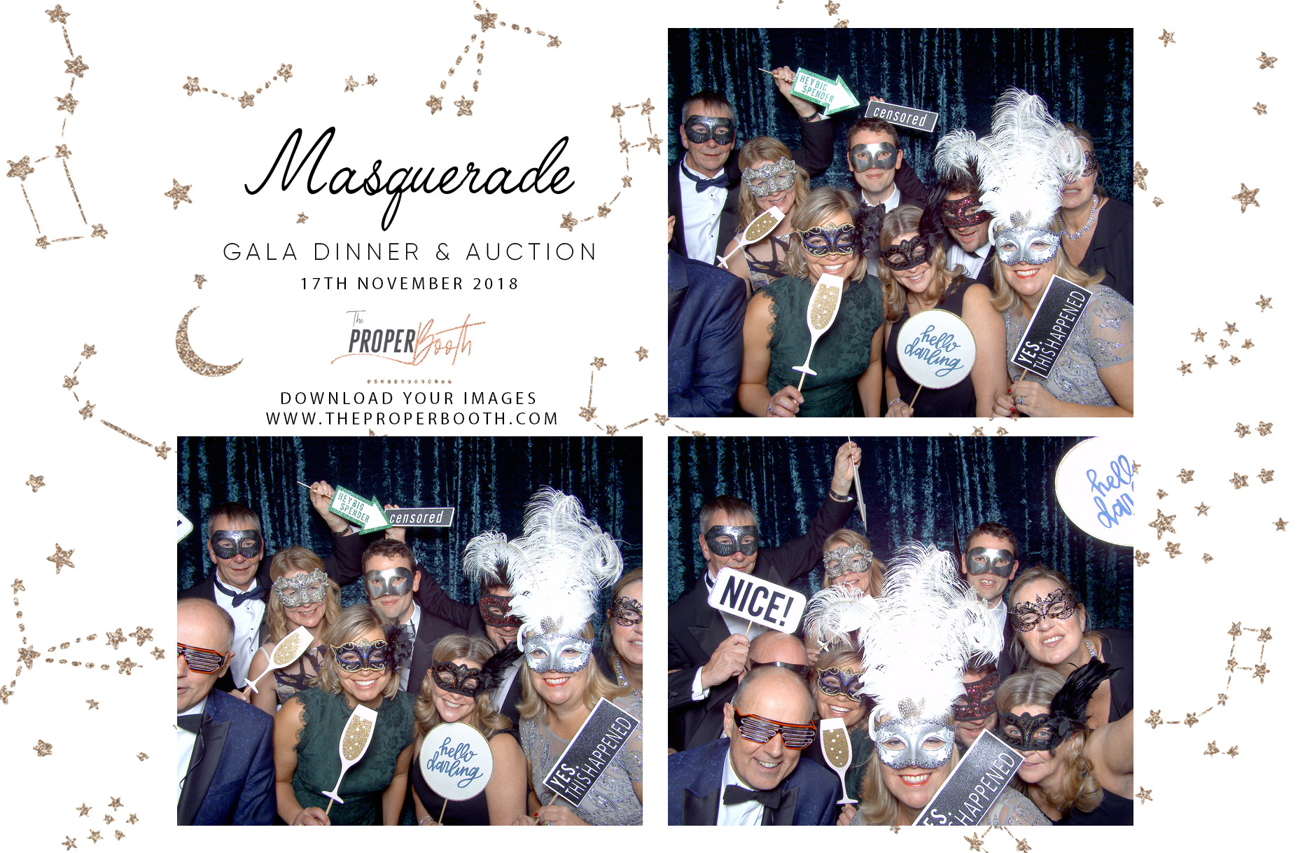 Event photo booth hire in somerset