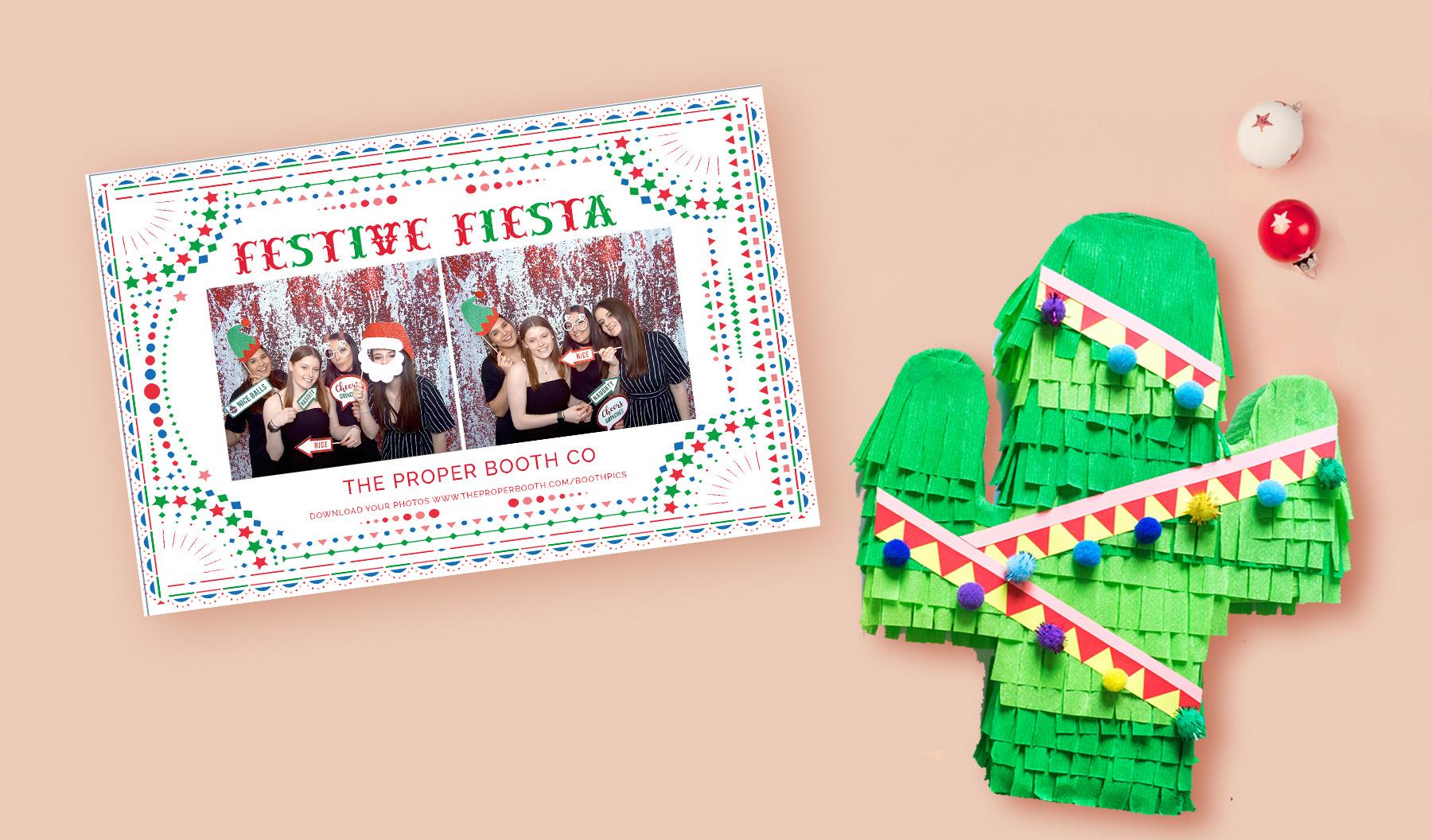 Festive Fiesta Christmas Photobooth