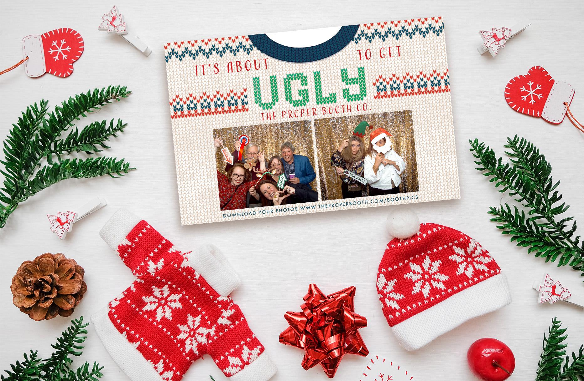 Ugly Christmas Jumper Photobooth