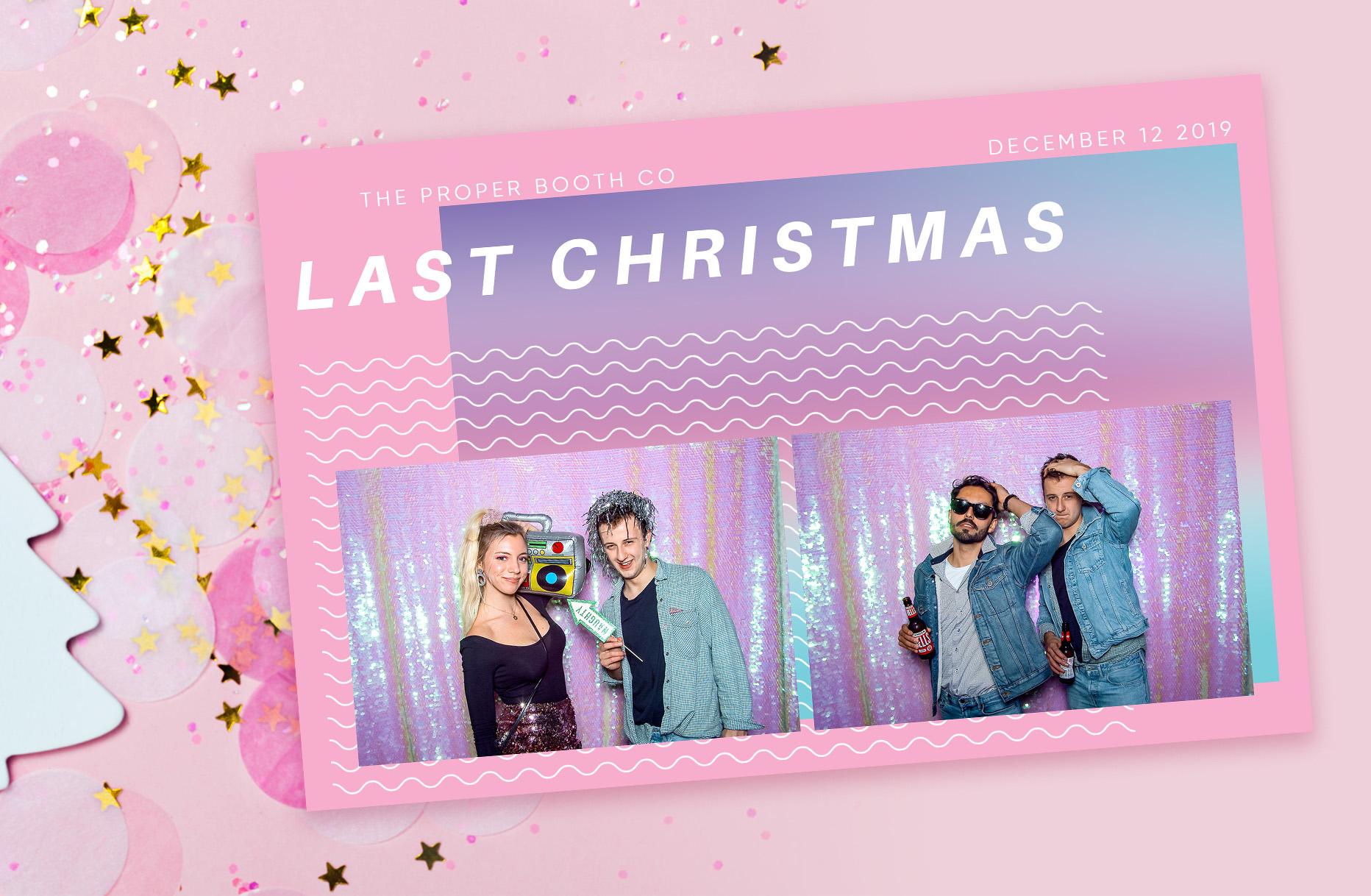 80s Christmas Photobooth