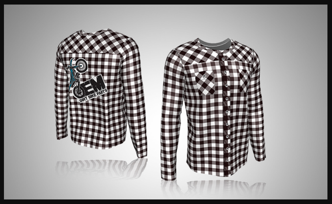 Custom Long-Sleeve Sublimated Shirt