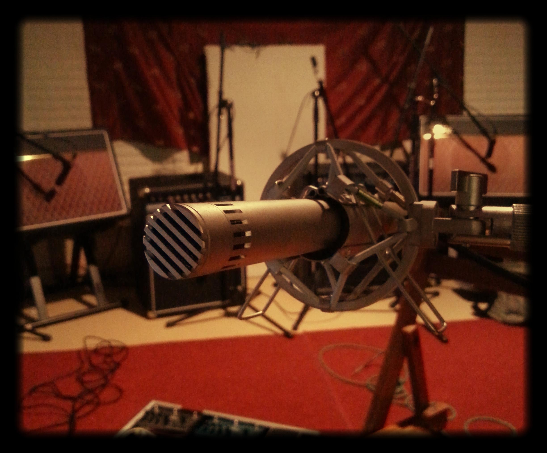 Mics, amps, and the basement