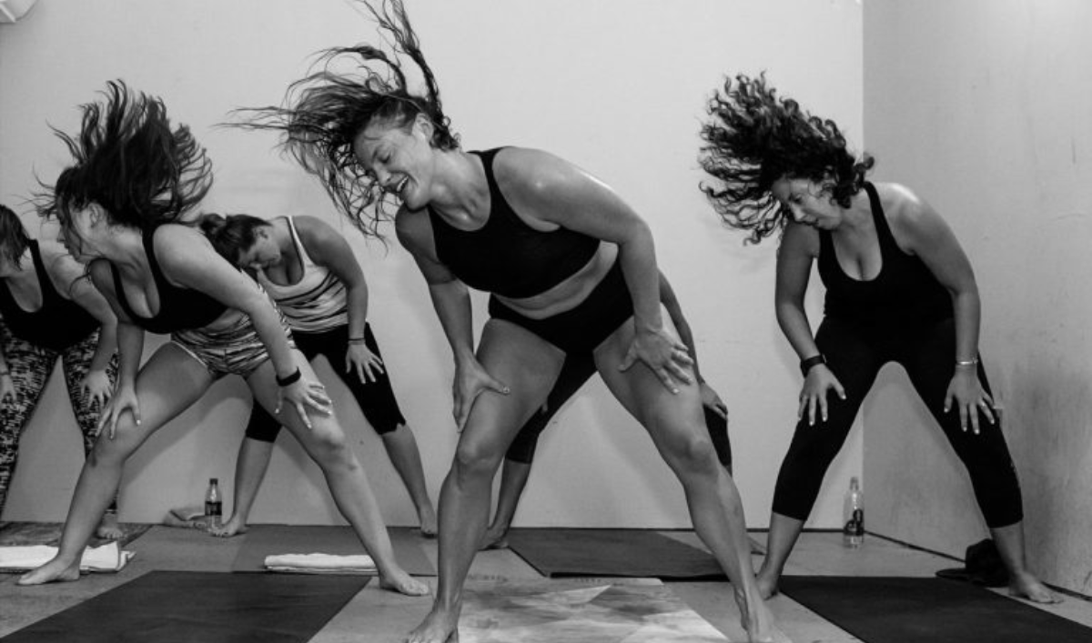 SWEAT WITH INTENTION -