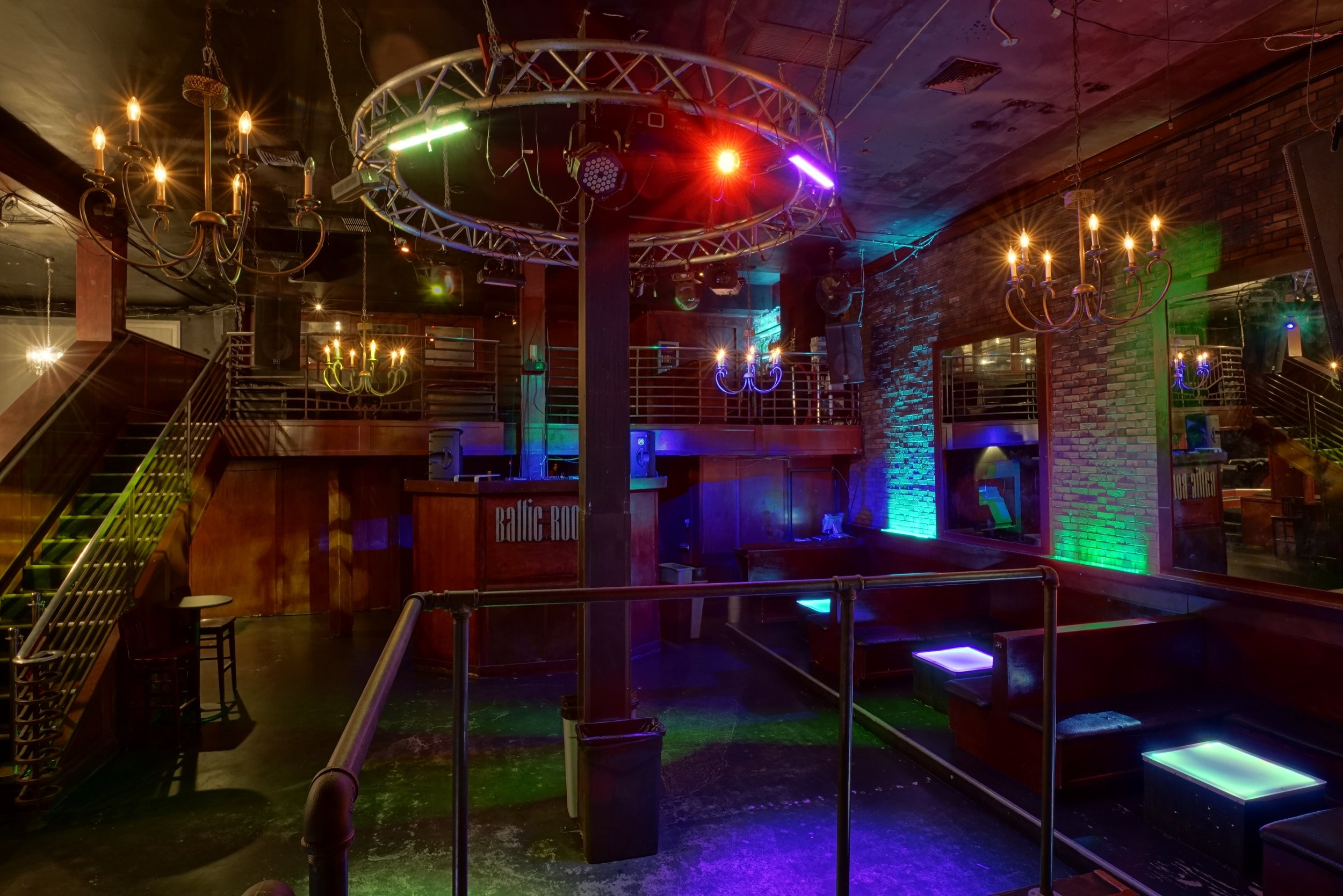 Capital Hill   Baltic Room                          Genre   Reggae Dance Hall (Mon), Drum & Bass (Tues), 90's, Old School (Fri), Hip Hop (Sat)   Time     ~ 10pm - 2am   Place    1207   Pine St, Seattle WA   98101