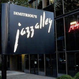 Downtown   dimitriou's jazz alley                                               Genre   Jazz                                         Day      Tues - Sun   Time     ~ 5pm - 11pm   Place    2033 6th Ave, Seattle, WA 98121