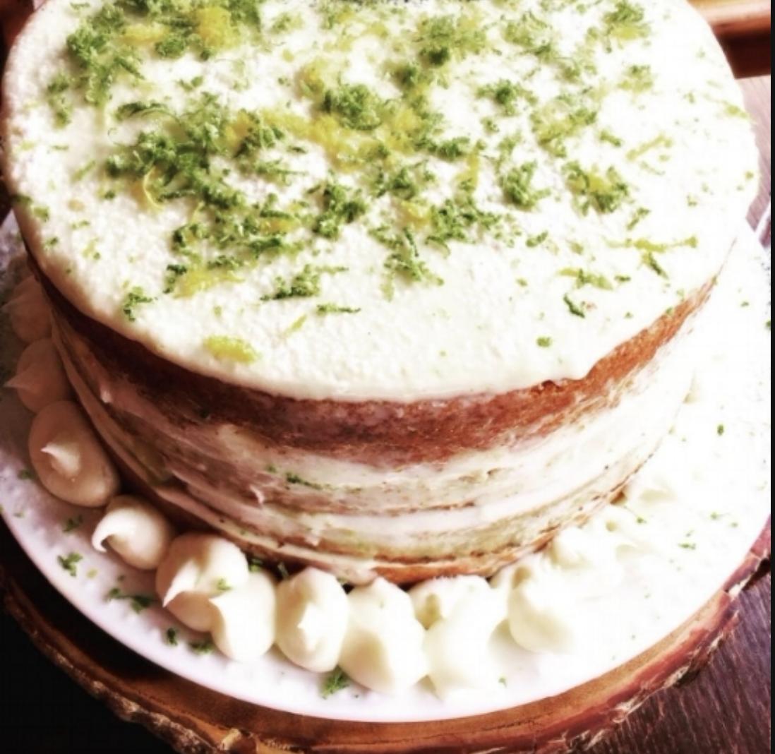 Lemon Spinach Cake