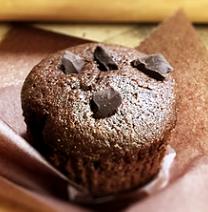 Dark Chocolate Chia Muffin