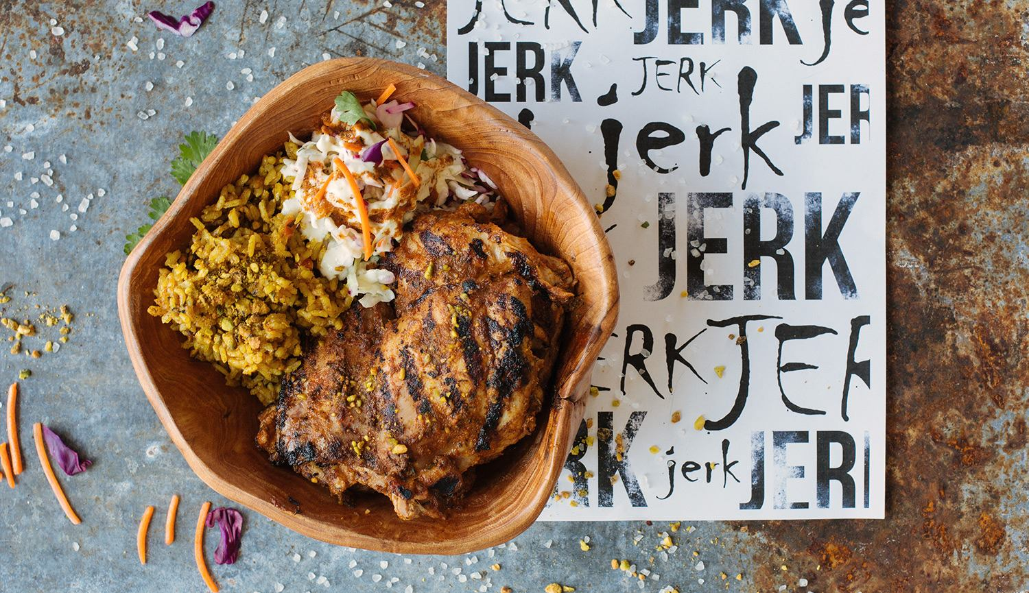 Grilled Jerk Chicken Bowl
