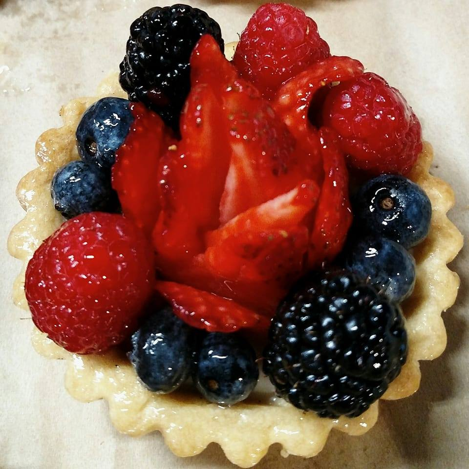 Fruit Filled Tart