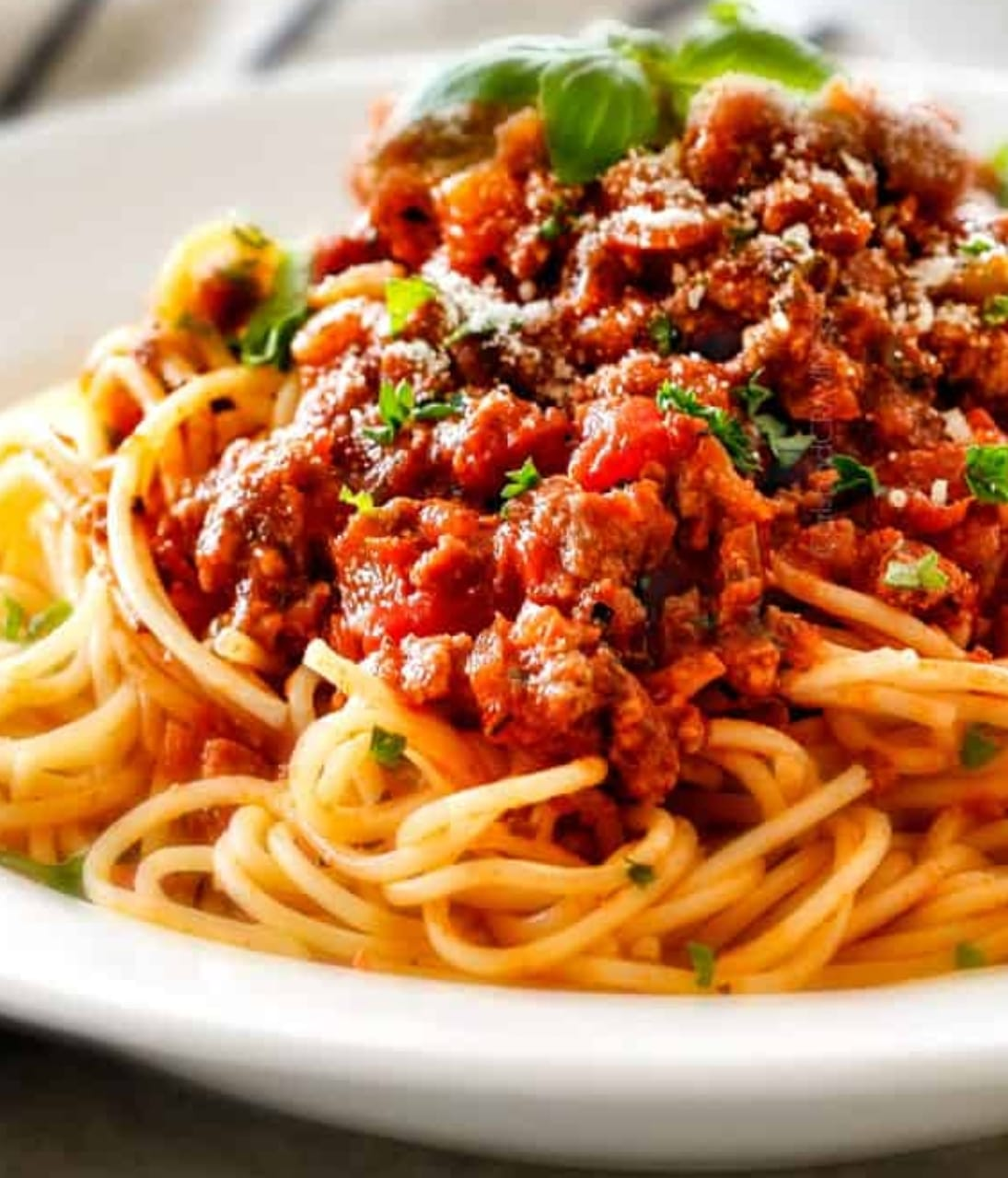 Organic Grass Fed Beef Spaghetti