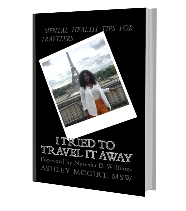 """""""I Tried To Travel It Away"""" Book"""