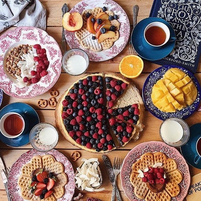 Breakfast goals! Via @h.rebel