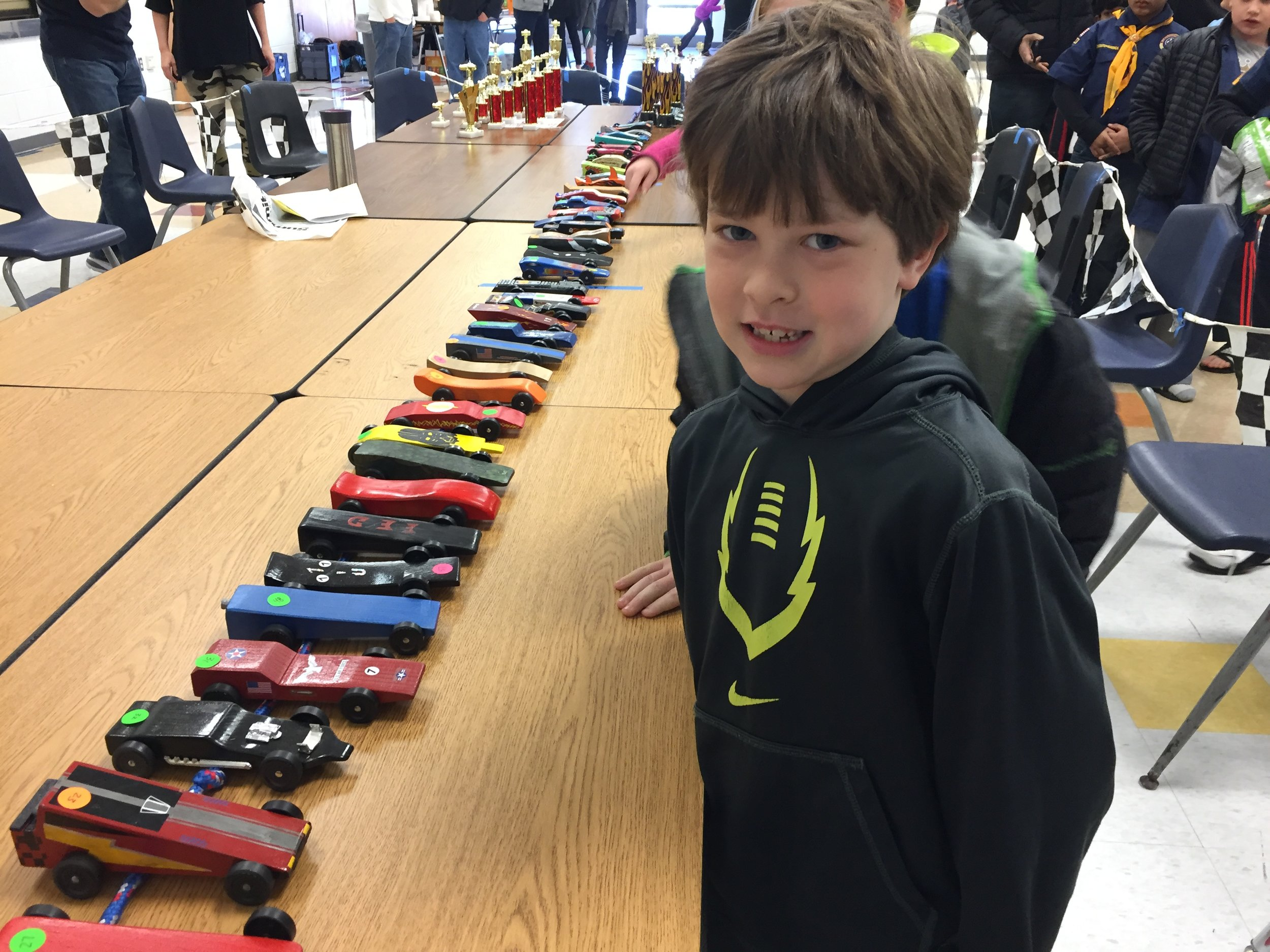 Grant and Pinewood Derby.JPG