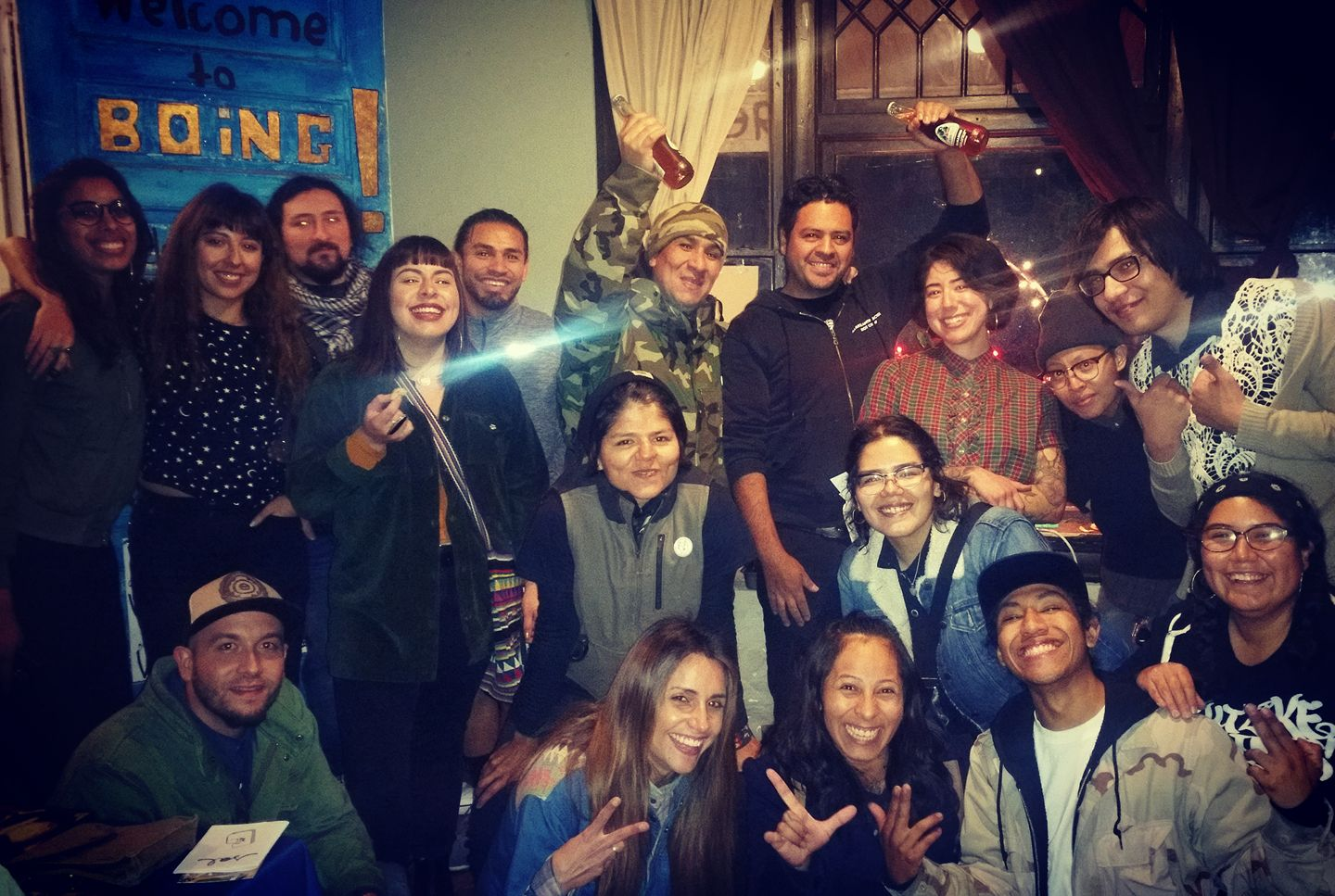 Members of the Nopalera Artist Collective.