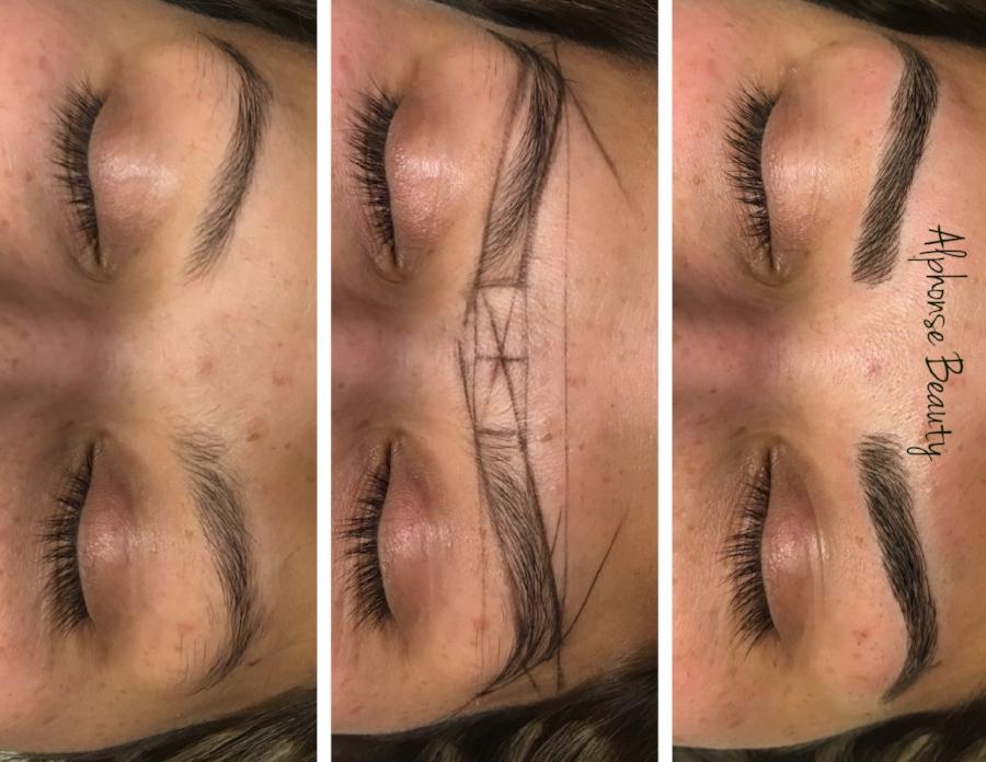 Eyebrow Microblading Brow Mapping