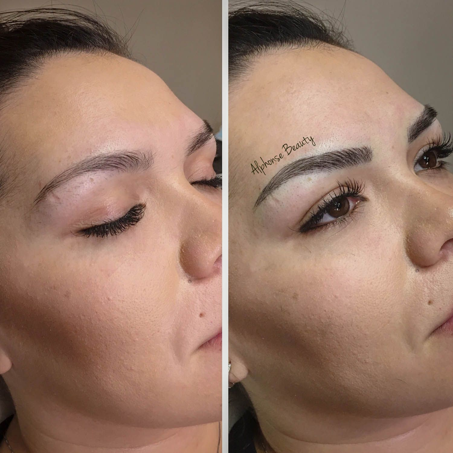 Eyebrow Permanent Makeup Before & After Michigan