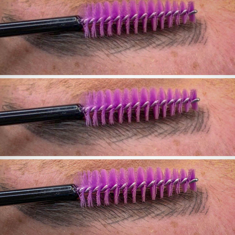 Eyebrow Microblading Healed Strokes