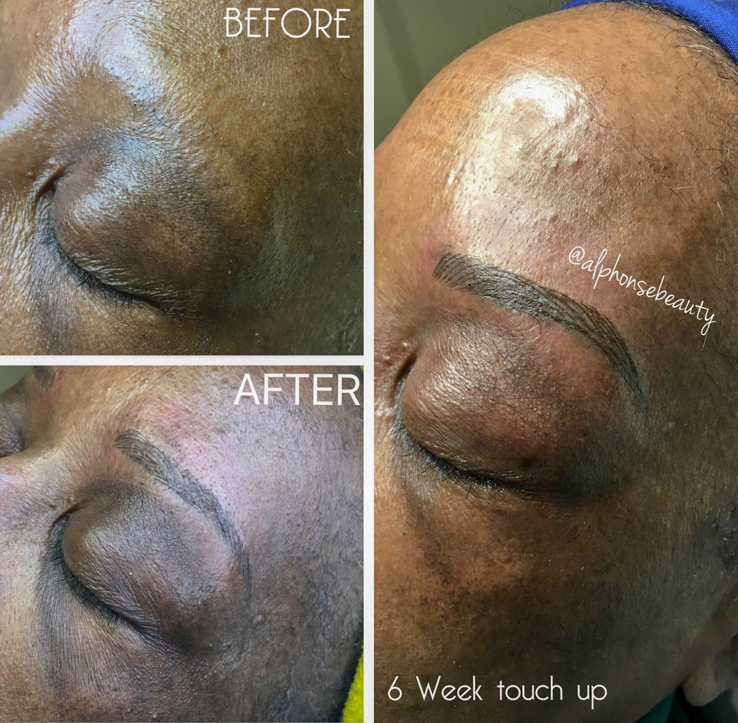 Results from Eyebrow Microblading in Metro Detroit - Alphonse Beauty Microblading Studio