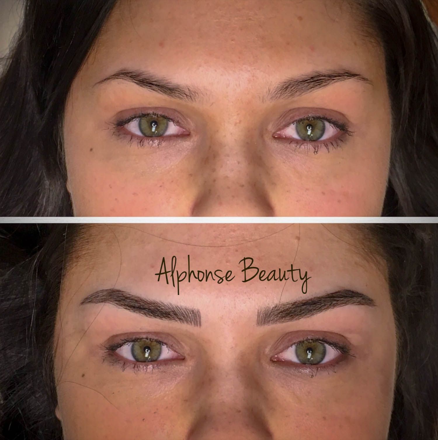 3D Eyebrows Microbladed for a filled and full look