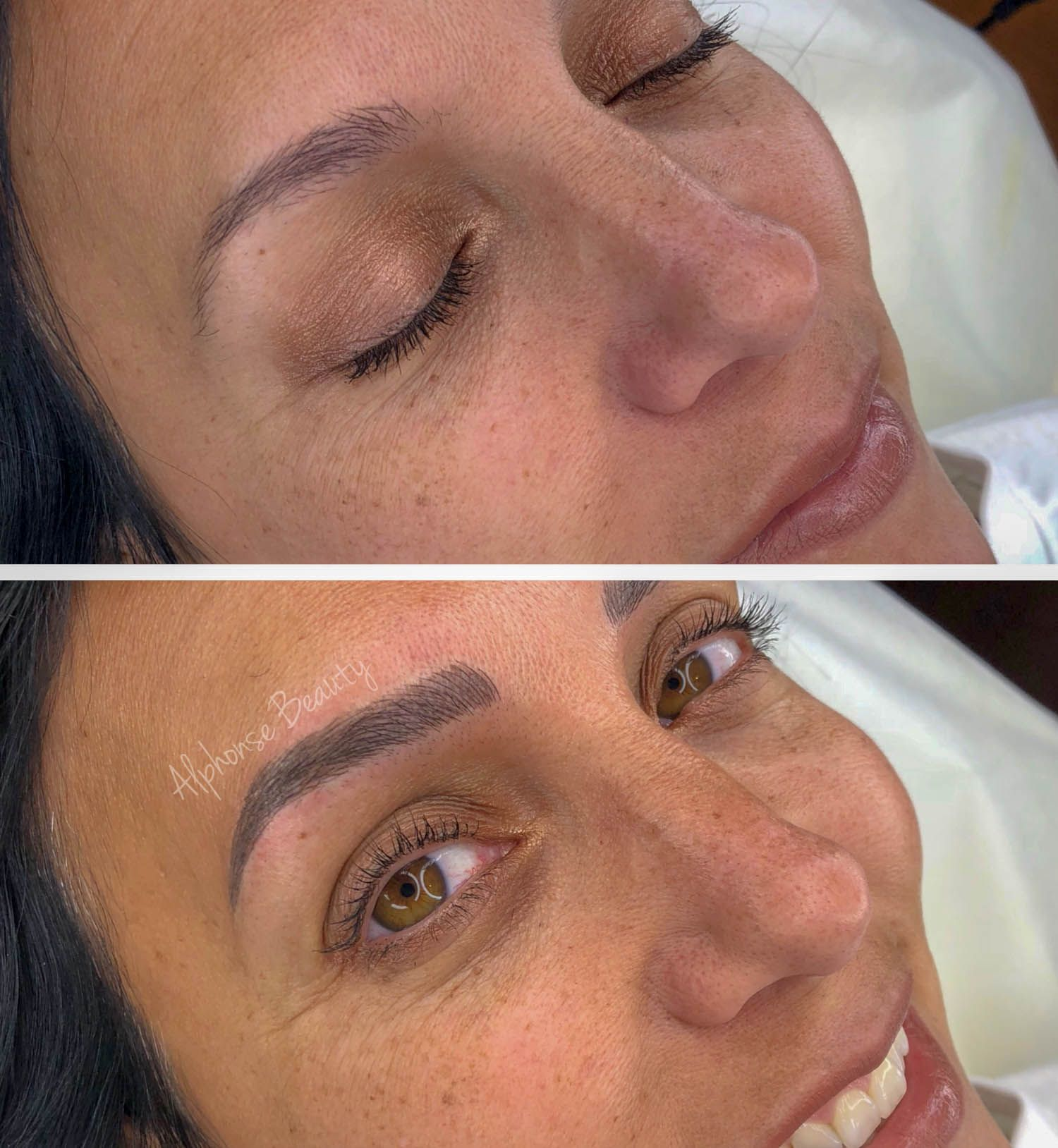 Permanent Eyebrow Makeup Results Michigan