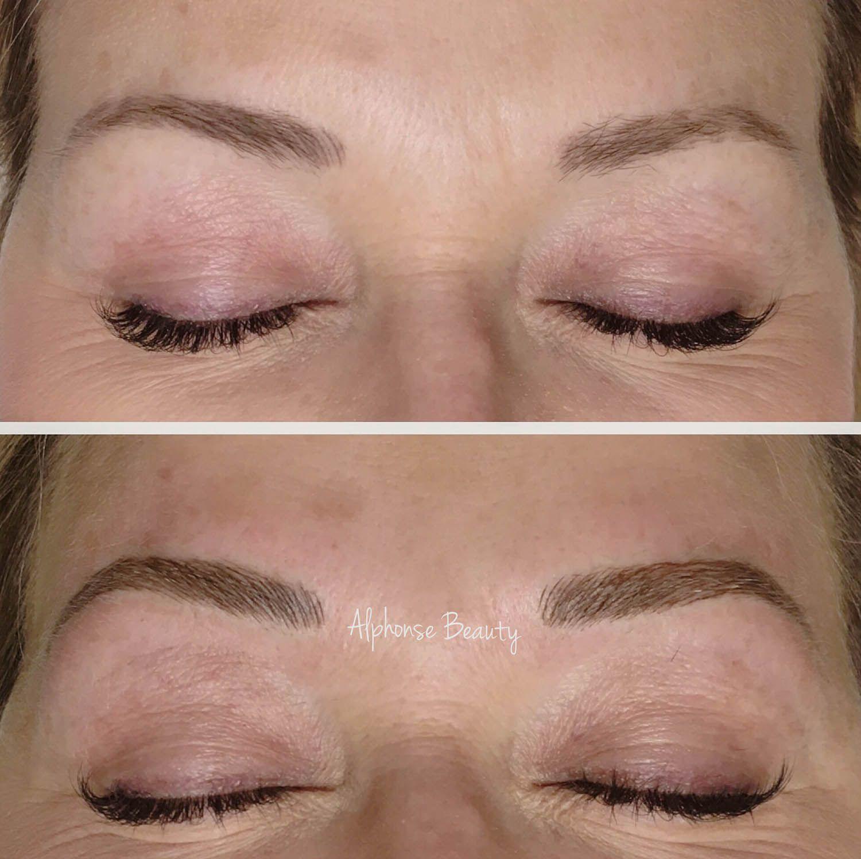 3D Eyebrow Microblading Procedure conducted in Metro Detroit