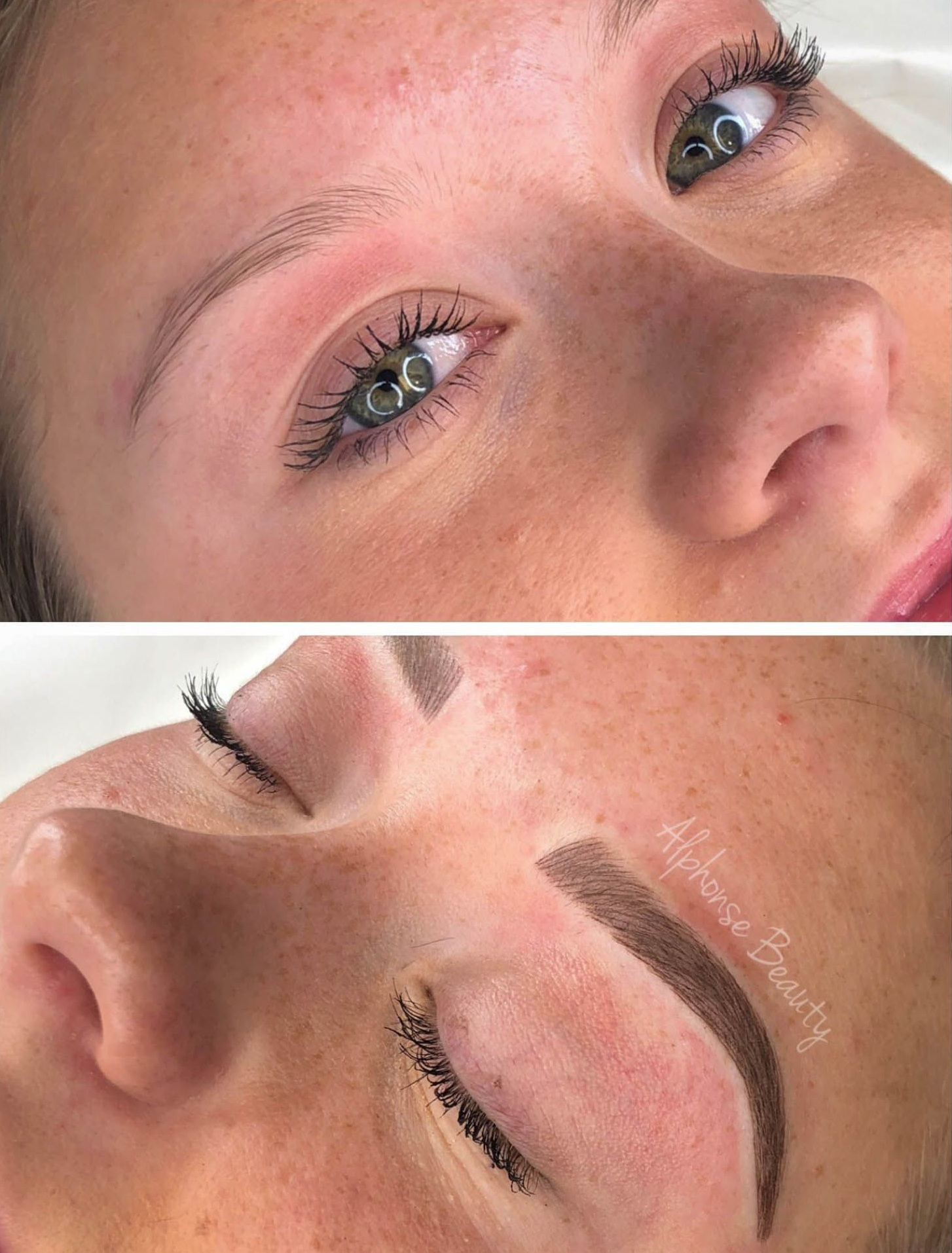 Alphonse Beauty Eyebrow Microblading Results