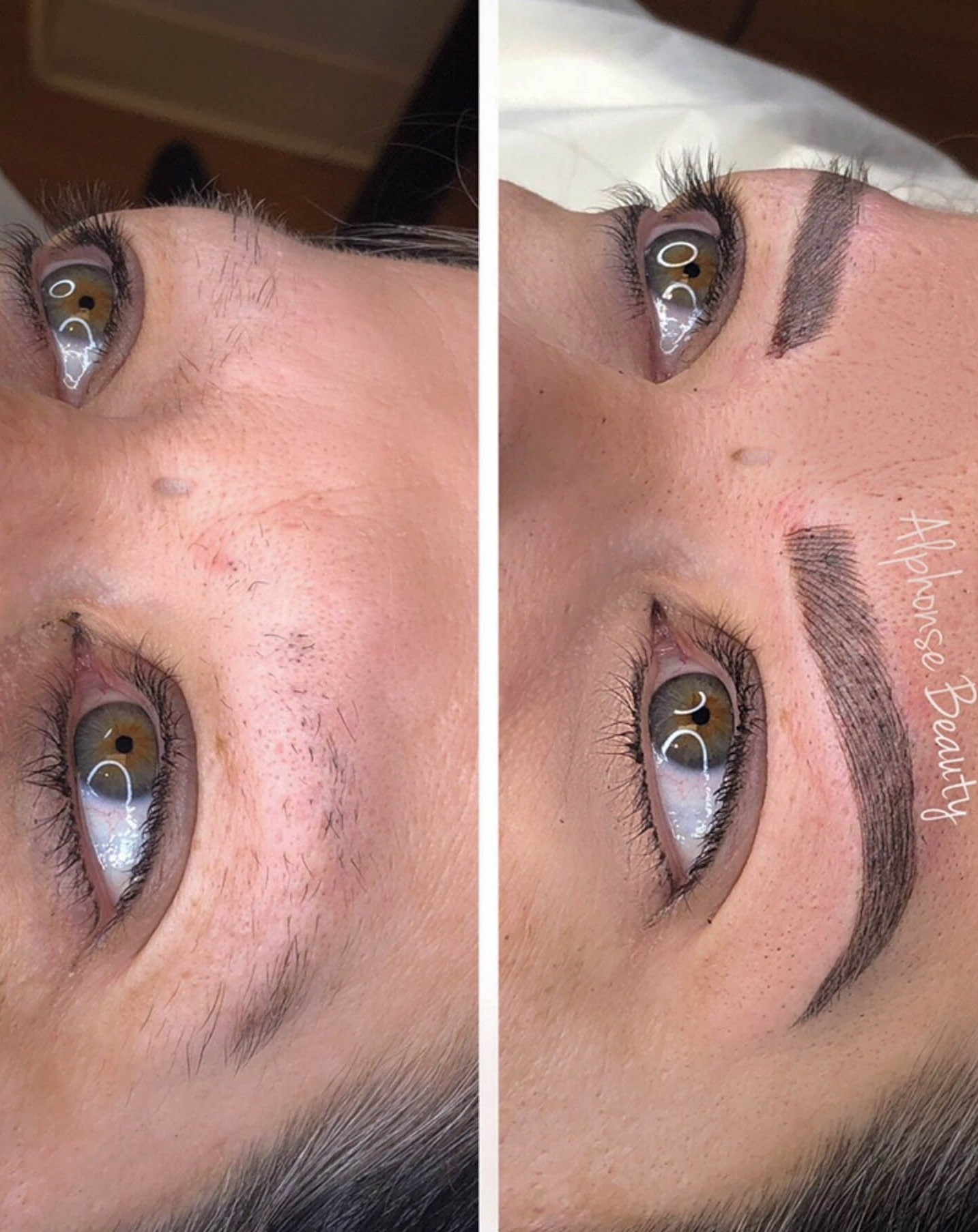 Alphonse Beauty Microbladed Brows
