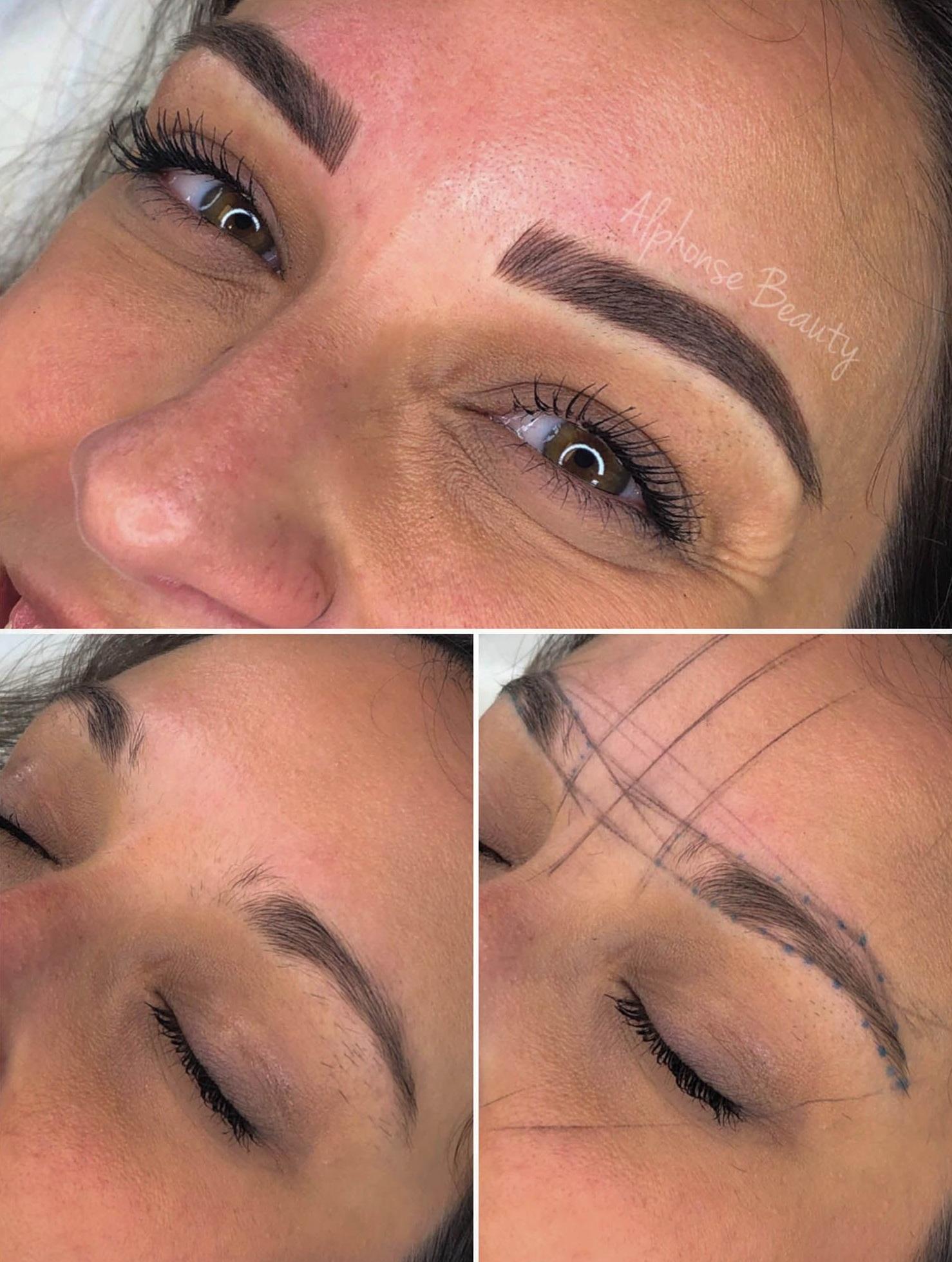 Alphonse Beauty Microblading | Michigan - Eyebrow