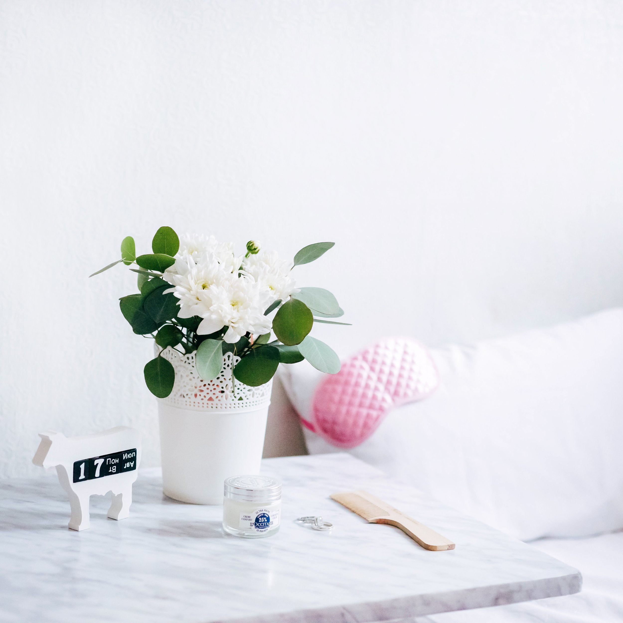 Making your bedroom cozy and comfortable and getting into a bedtime routine can aid in restful sleep.