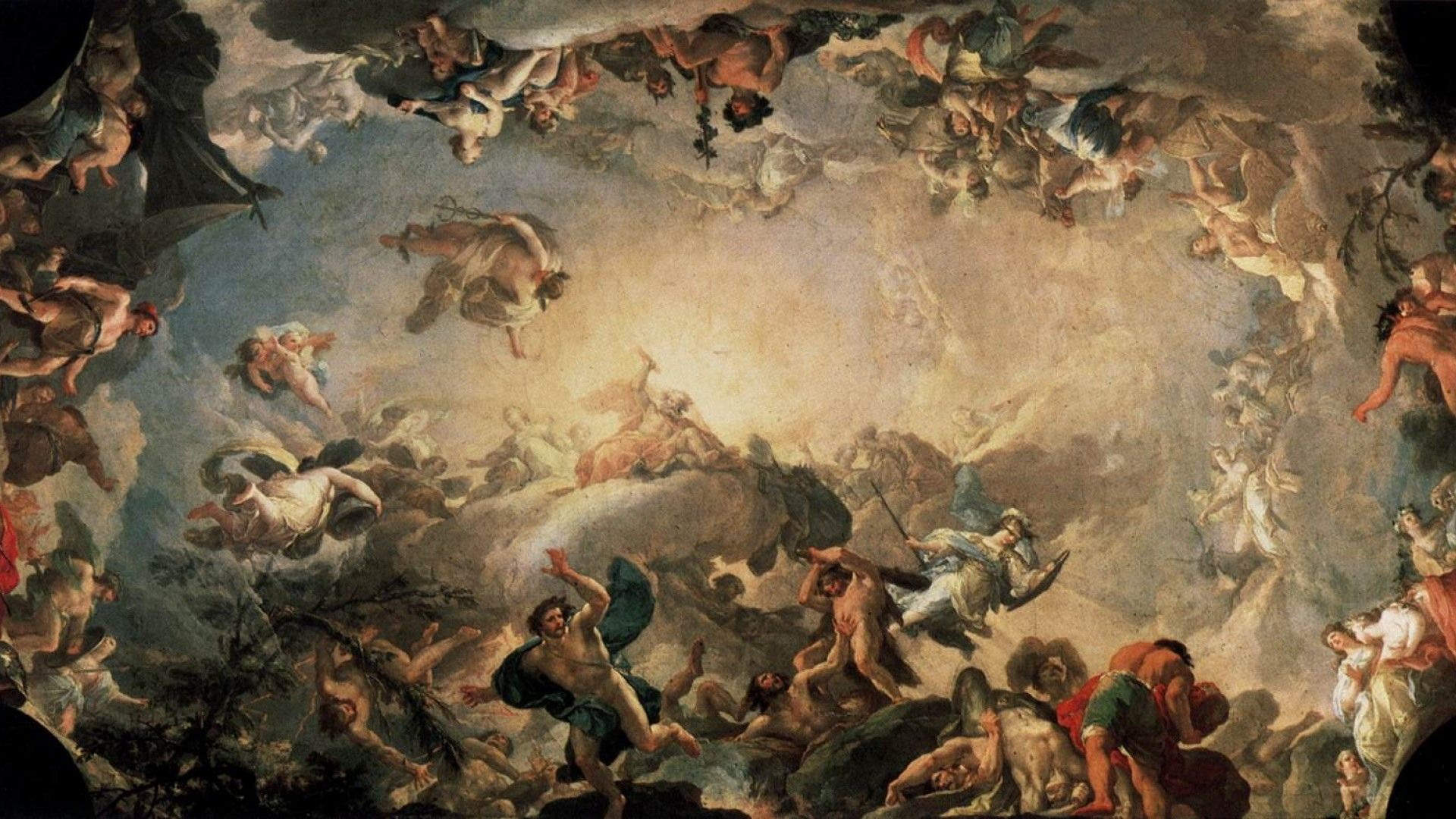The Greek Pantheon - An Olympic Struggle
