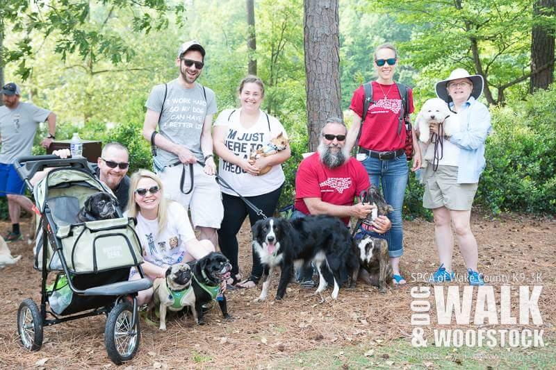 2017 Dog Walk & Woofstock Team