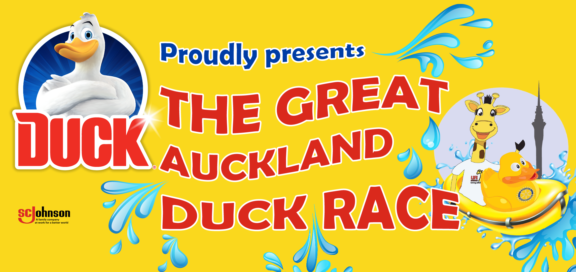 Join us for the quackiest race day in Auckland! -