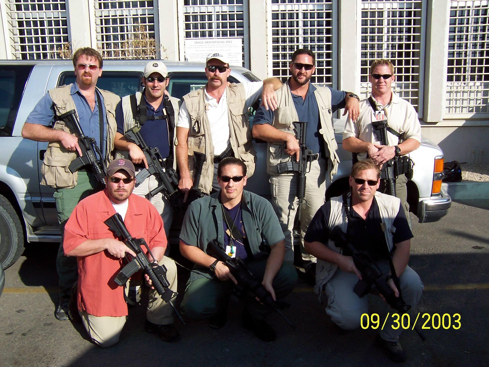 Alpha and Bravo Teams. US Embassy Tel Aviv.