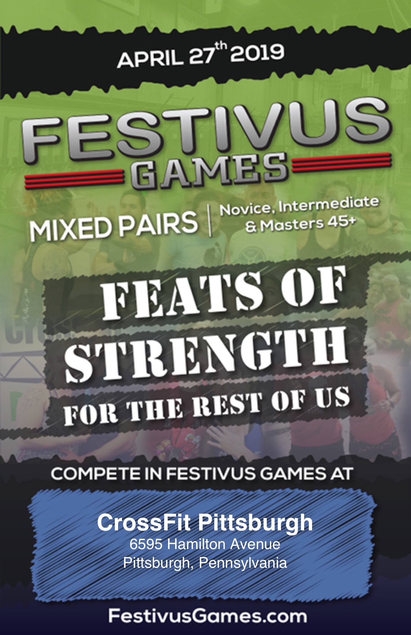 You asked for Mixed Pairs, Festivus delivered.