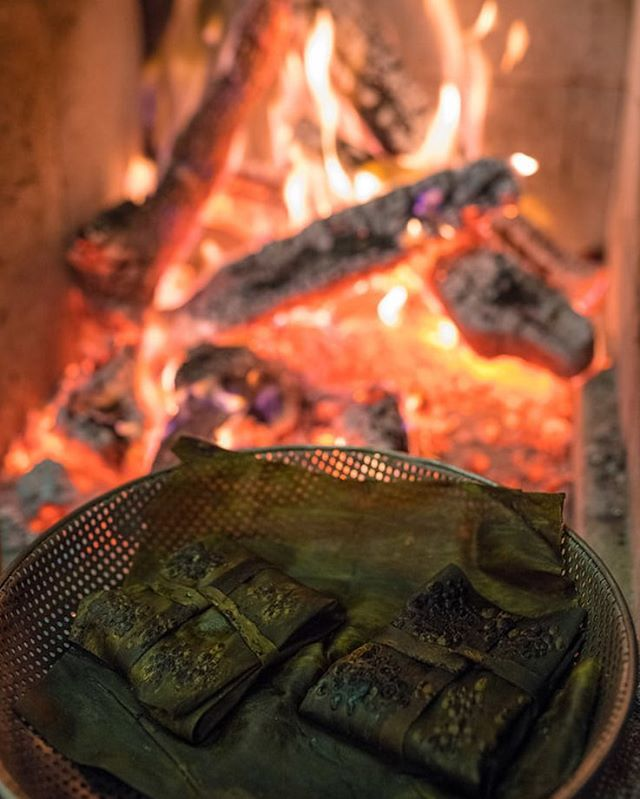 grilled over the embers