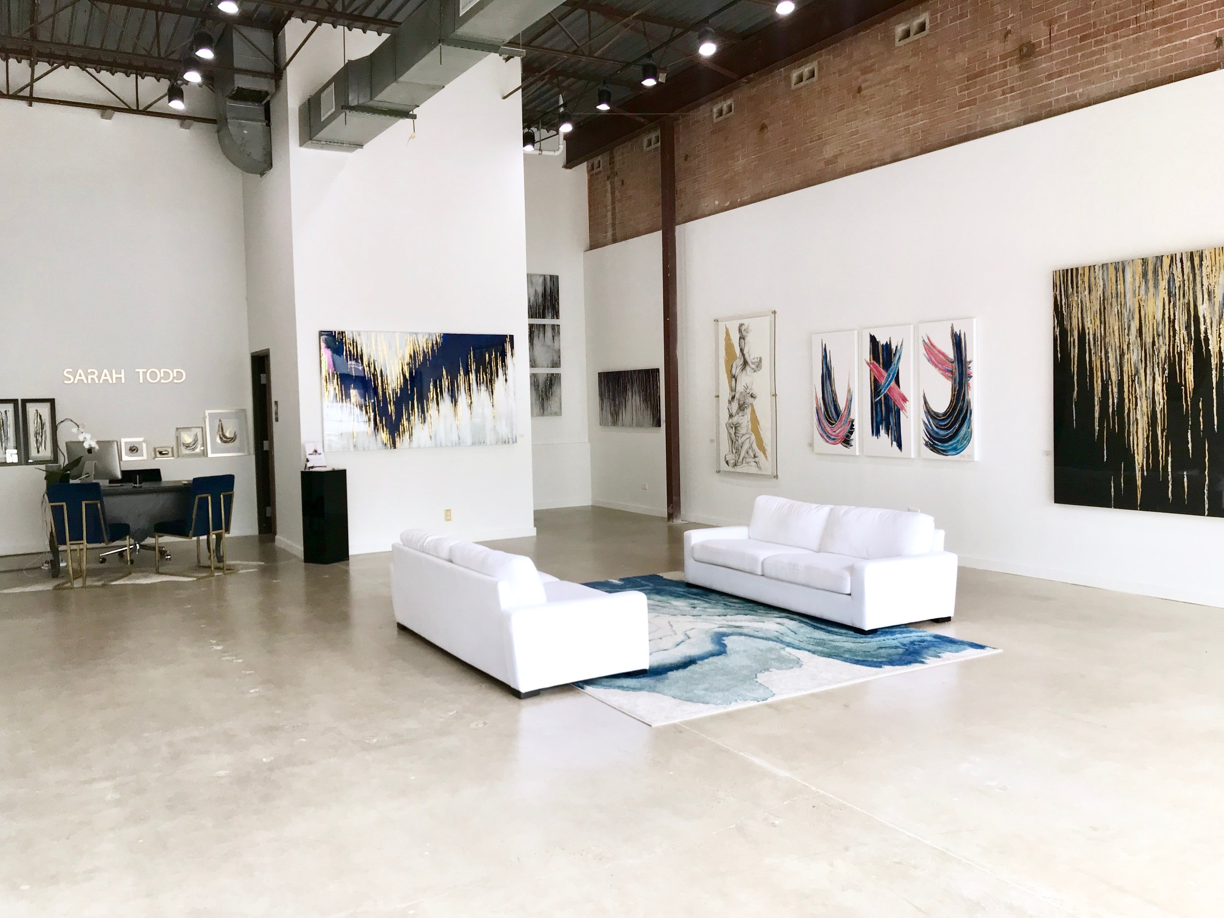 sarah todd gallery - Inwood Village5360 W. Lovers Lane Suite 128Dallas, TX 75209