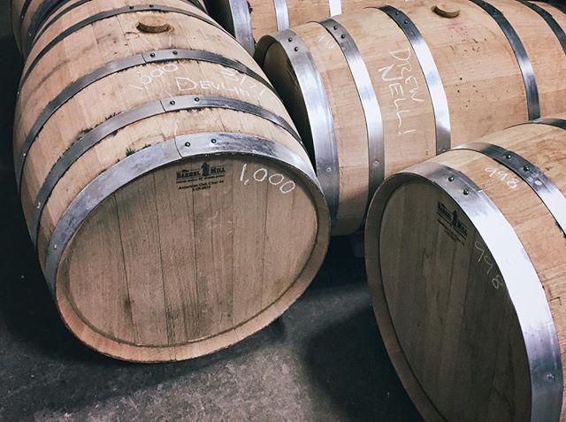 Just filled barrel 1,000! _ #1000 #whiskey #2barspirits #heckyeah