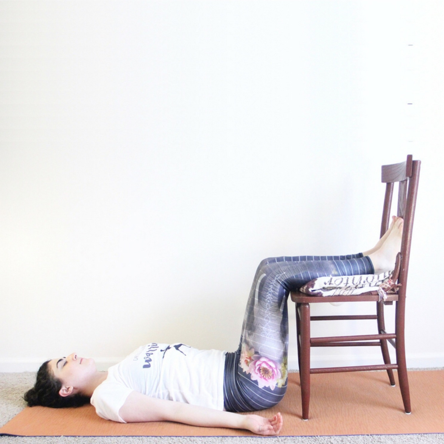 Legs Up The Wall With Chair