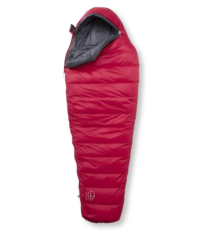 L.L.Bean Women's Ultralight 850 Down Sleeping Bag, 15 Degrees     For a splurge, this women's sleeping bag is ultralight with water resistant goose down. As someone who gets cold easily, this bag changed my camping experience.