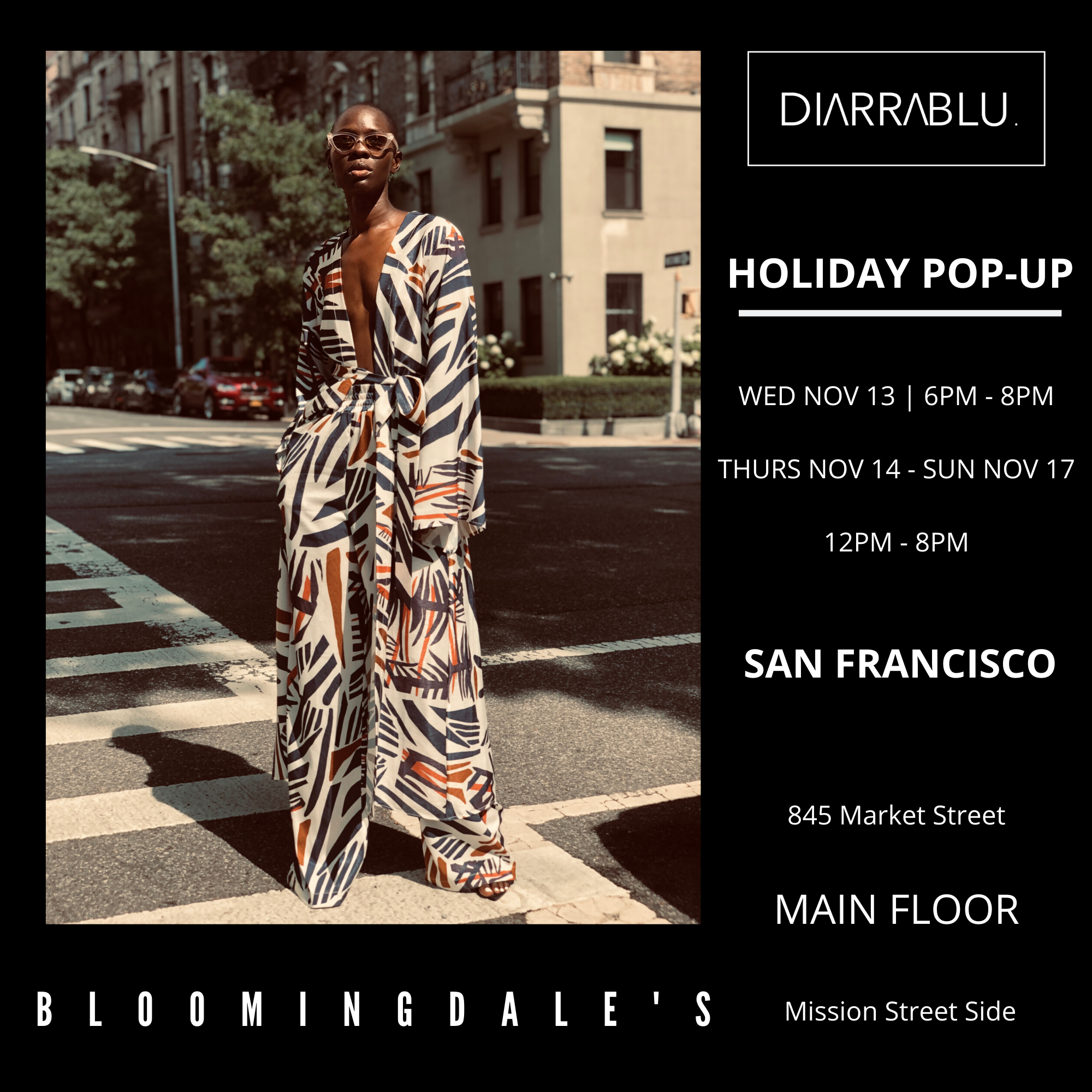 Fisf Designer Pop Up Diarrablu Fashion Incubator San Francisco Supporting Designers In The Business Of Fashion