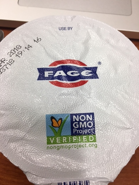 Fage is now part of the non-GMO project