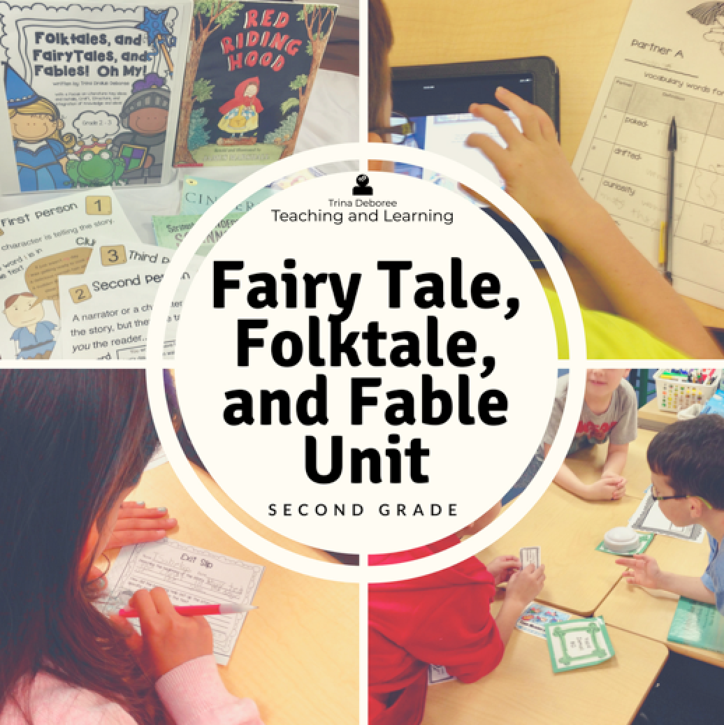 Folktales, Fairytales, and Fables is a close reading unit that allows students to take a fascinating look at complex text. Six weeks of lesson plans for Reading Workshop in the second-grade classroom. -