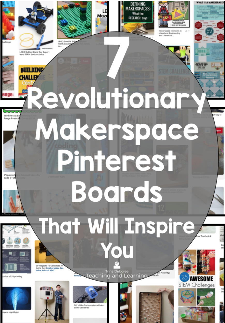 7 Revolutionary Makerspace on Pinterest